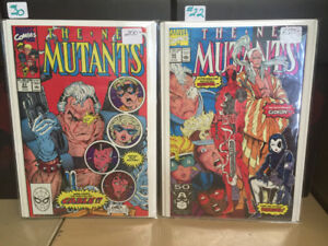 GUARDIAN COMICS - New Mutants #87 and #98 for sale