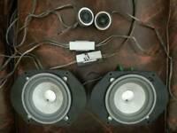 "5"" Fli integrator comps speakers 4"" Fli underground speakers, tweeters and crossovers"