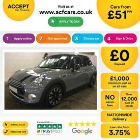 MINI COOPER 1.2 1.5 2.0 S DSEVEN ONE COUPE CHILLI PACK FROM £51 PER WEEK!