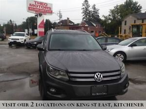 2012 Volkswagen Tiguan Highline | XENON | BROWN LEATHER | SUNROO