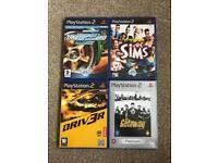 PlayStation 2 games x4