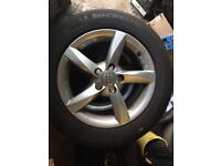 """Genuine"" Audi A3-A4 alloy wheels"