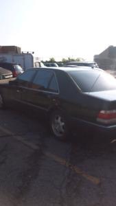 1999 s320 black on black