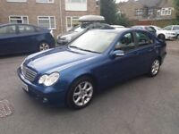 1.8 mercedes c class 2005 petrol automatic 226000 miles history mot 02/08/2018 hpi clear 2 owners