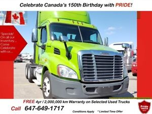 2013 Freightliner CASCADIA SUPER CLEAN TRUCK WITH 6 MTH WARRANTY