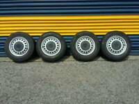 T4 wheels and tyres
