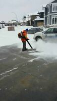 Booking snow removal for 2017