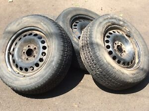 215 60R 15  tires on rims for sale