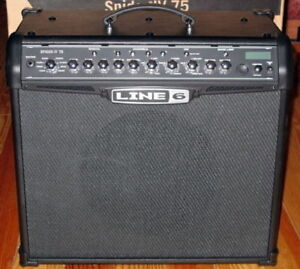 Line 6 Spider IV 75W amp AND Line 6 FBV Express MKII Footswitch