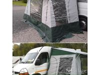 Awning for motorhome