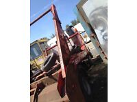 Skip truck spares or project
