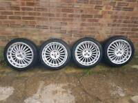 Alloy Wheels and tyres MG / Mini