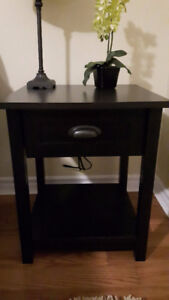 2 brand new night tables $25 each