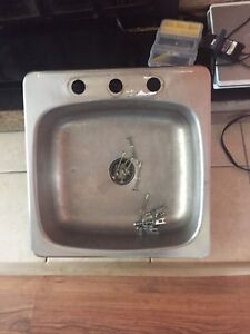 Single Stainless sink