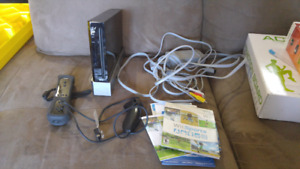 $200 obo Wii gaming system with fitness accessories