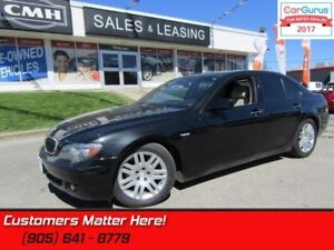 2007 BMW 7 Series 750iL  NIGHT-VISION NAV ROOF COOLED-SEATS SELF