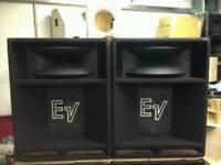EV SH15ER PA SPEAKERS