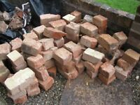 BROKEN SECOND HAND BRICKS , IDEAL FOR SHED BASES , FOUNDATIONS,