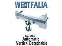 WESTFALIA REMOVABLE TOWBAR FOR JEEP GRAND CHEROKEE 2015
