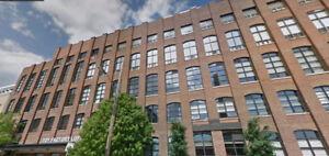 Toy Factory Lofts--1 bed/2 bath w/ 4 balconies, prkg & locker!