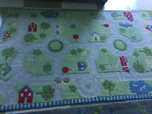 Children's large play rug
