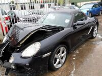 porsche boxster 2.7 2008 damage repairable