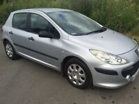 PEUGEOT 307 2006 5DR FULL YEAR MOT GOOD CONDITION