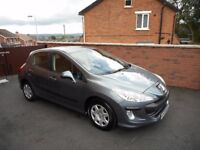 2009 peugeot 308 16 hdi{30 pounds tax,just serviced,finance,warranty ava}73000 miles