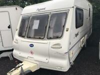Bailey pageant imperial 2001 2 berth touring caravan