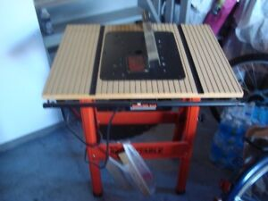 New Folding Circular Saw Table