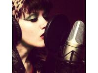 Female Session Singer - Online Recording Studio
