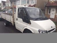2002 FORD TRANSIT DROPSIDE, DIESEL. BRILLIANT DRIVE. AVAILABLE FOR HIRE. RECENTLY SERVICED.