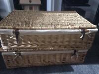 Large wicker baskets SOLD