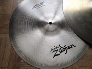 Hi Hats New Beat 15'' de Zildjian.