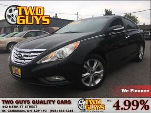 2011 Hyundai Sonata LIMITED NAVIGATION LEATHER ALLOYS
