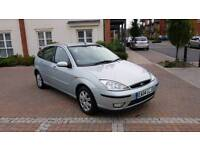 2004 Ford Focus 1.6 Ghia 5 Door with Service History and Low Mileage