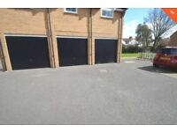 Secure Garage available to rent. Walking distance to railway