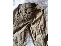 Next Khaki trousers 18months -2 years