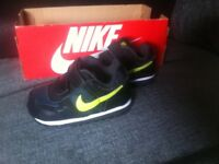 Nike baby trainers UK 3.5