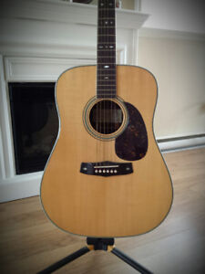 Guitare accoustique T.Haruo handcrafted