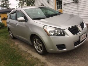 2009 Pontiac Vibe-Good price! Excellent shape! No repairs to do!