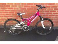 Girl's Reebok Lynx 18 Speed bike