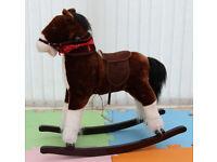 Rocking horse dark brown sound effect