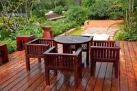 #1 fence & deck staining/sealing! 20% off book today