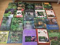 20 x Gardening Books - hardback & paperback