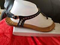 Ladies sandal size 40 brand new with box