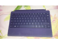 Microsoft Surface keyboard compatible with Surface Pro/RT/1st/2nd generation (2013) and case