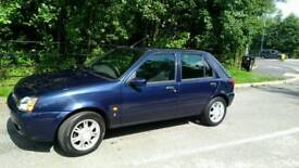 2002 Ford fiesta ghia in spotless condition no rust 1.2 62000 miles correct