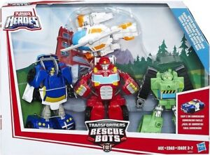 Wanted: Rescue Bots Toys