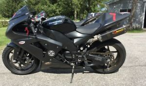 ZX10R Track Bike - Low Mileage